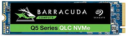 Seagate Barracuda Q5 500GB Internal SSD - M.2 NVMe PCIe Gen3 ×4, 3-D QLC for Desktop or Laptop, 1-Year Rescue Services (ZP500CV3A001)