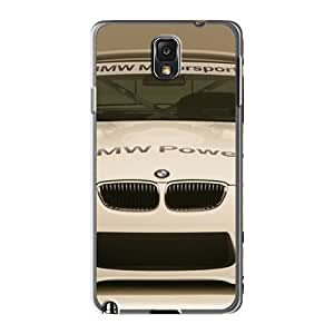Hot Fashion YYU2472IJow Design Cases Covers For Galaxy Note3 Protective Cases (bmw M3 Alms Race Car Front)
