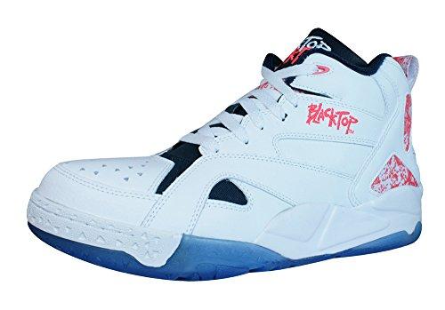 Reebok Classic Blacktop Boulevard Mens Sneakers Bianche