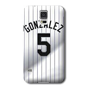 S5 Case, MLB - Colorado Rockies #5 Carlos Gonzalez - Samsung Galaxy S5 Case - High Quality PC Case