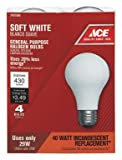 Feit Electric Co Bulb Softwht 29W Ace 4Pk Case Of 6, Feit Electric Co