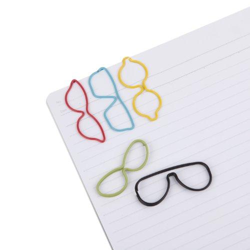 Umbra Specs Paper Clips, Assorted, Set of 10