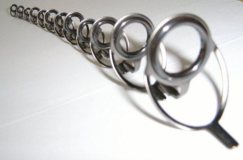 (Set Titanium Oxide Casting Rod Guides Rod Making )