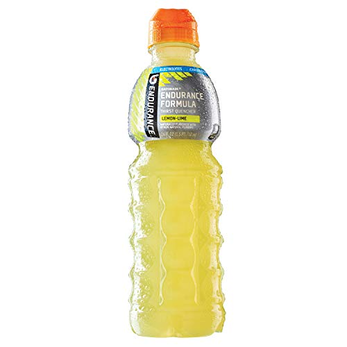 Sport Drink Heed Hammer (Gatorade Thirst Quencher, Endurance Formula, Lemon Lime, 24 Ounce Bottles, 12 Count)