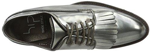 Donna 91co Bc Stringate D1052 HIP Scarpe Argento URXXxw