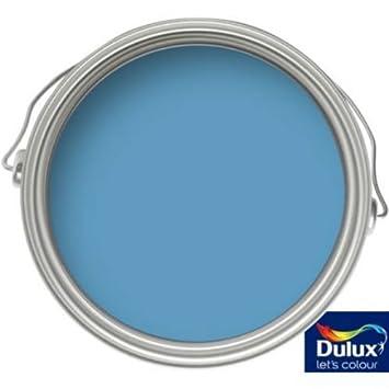 DULUX Plus de Salle de Bains Bleu Lagon - Peinture vinyle brillante ...