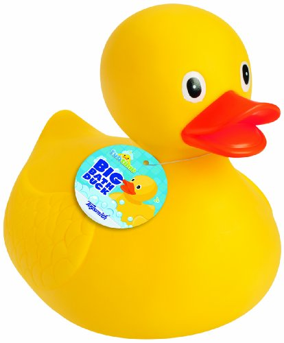 (Toysmith Big Bath Duck (8.5-Inch))