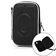 "UY CHAN 1 Piece Universal Protective Shockproof Case Pouch Bag for Western Digital WD My Passport Ultra Elements / Seagate Backup Plus Slim / SamSung 500GB 1-4TB 2.5"" Portable External Hard Drive HDD"