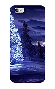 015f6cf4894 Glowing Star On Snowy Tree Fashion Tpu Case Cover For Iphone 6 Plus, Series