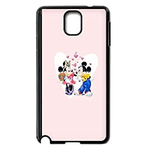 Mickey And Minnie Valentines Couple Samsung Galaxy Note 3 Cell Phone Case Black phone component RT_416564