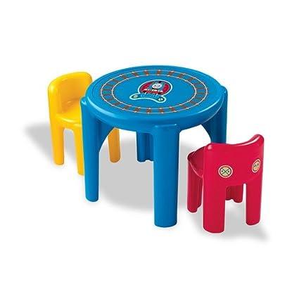 Amazon.com: Little Tikes Thomas & Friends Classic Table & Chairs Set ...
