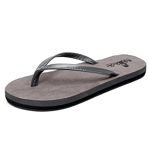 Slippers HAIZHEN Women shoes Female summer sandals Non-slip flat sandals Couple beach shoes European and American men and women for Women (Color : 1003, Size : 35) 1001