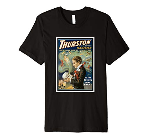 (Vintage Magic, Thurston, The Great Magician Premium T-Shirt)