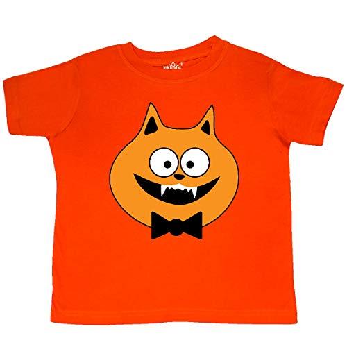 (inktastic - Halloween Vampire Cat Costume Toddler T-Shirt 3T Orange)