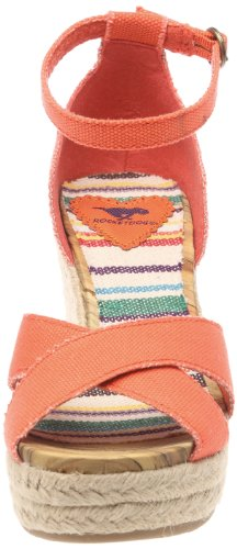 Rocket Dog Clara 20A Canvas Damen Sandalen Rot (Corail) ...