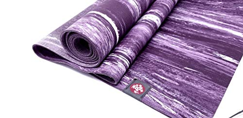 Manduka Natural Rubber Yoga Mat with Wet Grip 3mm Thick and 24