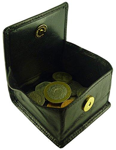 Sleek monnaie amp; Porte Hide Noir 7OFAc5Wg