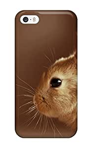 Cute Appearance Cover/tpu CSCLHQr10024nAZIy Cute Rabbit Beautiful Studio Shot Animal Other Case For iphone 5c