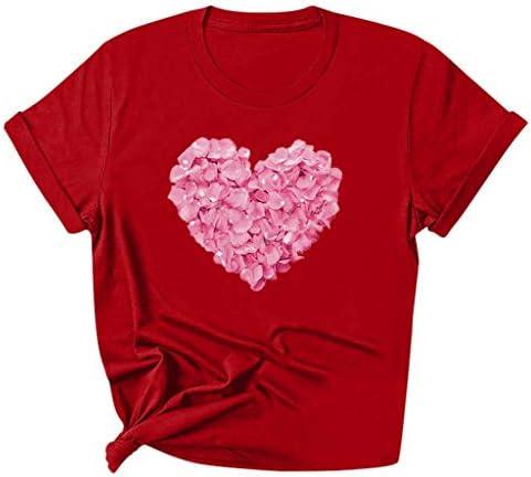 Mother`s Day Women Mom Summer Slim O Neck Short Sleeve Print Tee T-Shirt Top