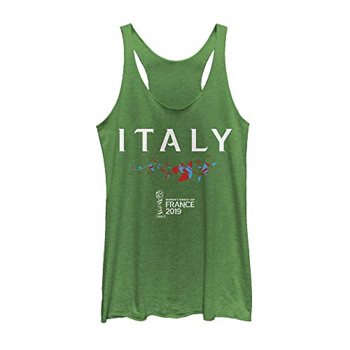 (Fifth Sun Officially Licensed FIFA Italy Junior's Racerback Tank, Envy, Large )