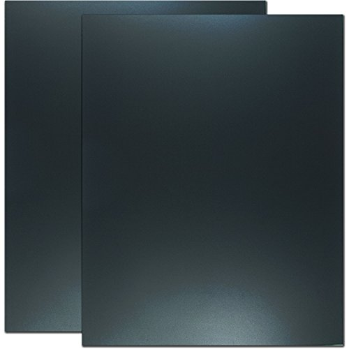 Cohas Eco Chalkboard includes 2 Unframed Blackboards with No Chalk Marker, 22 x 28 Inches Each, No Marker by Cohas