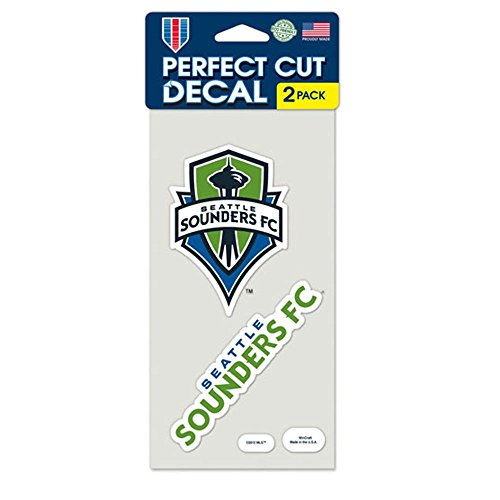 fan products of SOCCER Seattle Sounders Perfect Cut Decal (Set of 2), 4