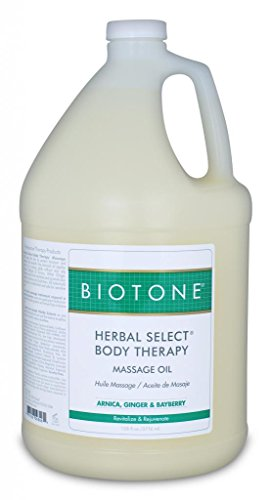 Biotone Herbal Select Body Mass Oil, 128 Ounce