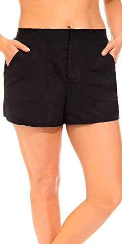 swimsuitsforall Women's Plus Size Chlorine Resistant Cargo Short 20 - Chlorine Resistant Shorts