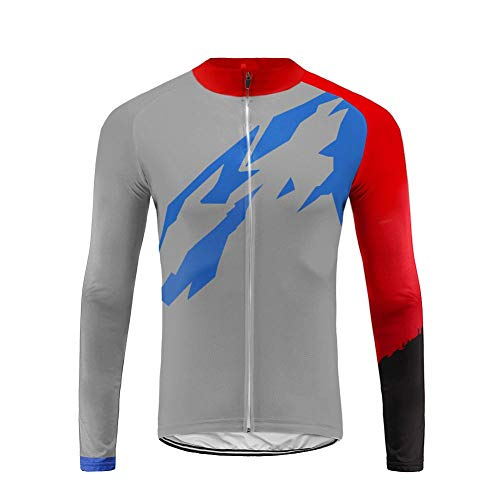 Uglyfrog H18DCX03 Men's Soft Long Sleeve Breathable Bicycle Cycling Jersey Polyester Clothing Outdoor Sports Fall Winter with Fleece - Jersey Coors Cycling