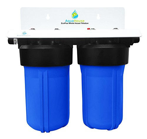 EcoPlus Whole House Water Filter System & Salt Free Water Softener...