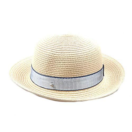 Tamaño Un Ancha 5pc Sombrero Playa color De Tamaño Yisaesa Con Libre Aire Al Tapa Sol Beige Rosado OSqwA6