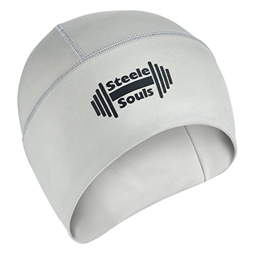 Steele Souls | Skull Cap - Helmet Liner - Running Hat - Cooling Hat | Moisture Wicking Beanie to Keep Your Head Cool