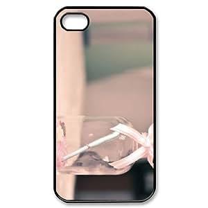 ALICASE Diy Customized hard Case Bottle For Iphone 4/4s [Pattern-1]