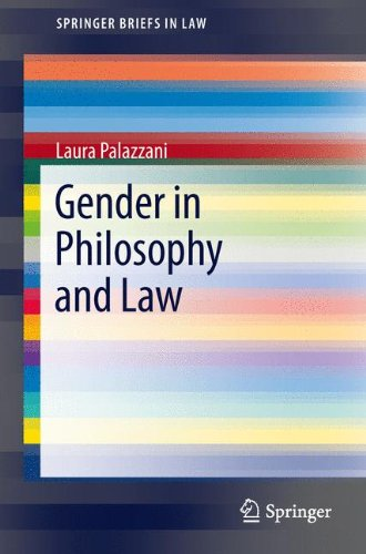 Gender in Philosophy and Law (SpringerBriefs in Law)