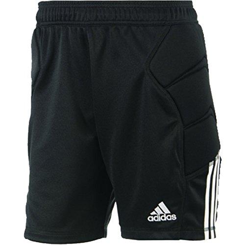 Goalkeeping Short - adidas Boys' Climalite Tierro 13 Goalkeeper Shorts - Youth X-Small -   Black and White