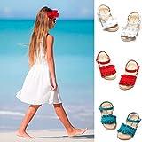 Otter MOMO Girls Sandals Open Toe Princess Flat