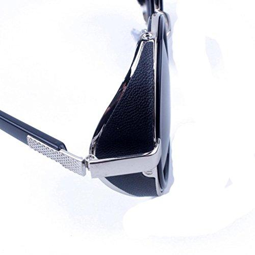 espejo sol moda moda K Retro gafas hombres aviador Winwintom Vintage lente de Color de mujeres viajes gafas nqO4BzUW