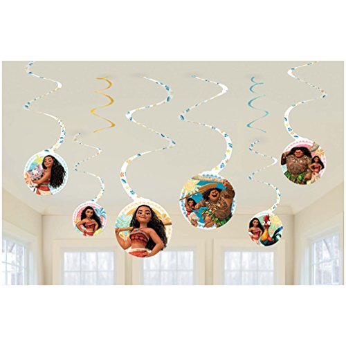Amscan Swirl Decoration - The Party King Supplies Lion