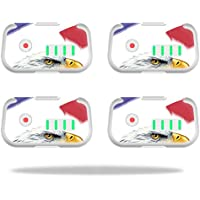 Skin For DJI Phantom 3 Drone Battery (4 pack) – Eagle Head | MightySkins Protective, Durable, and Unique Vinyl Decal wrap cover | Easy To Apply, Remove, and Change Styles | Made in the USA