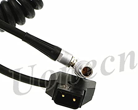 Anton Bauer Power Adapter Cable For Teradek Bond ARRI RED D-tap to 0B 2 pin Male