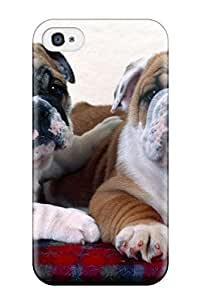 New Style dog animal cute frendly dogs pet Anime Pop Culture Hard Plastic iPhone 4/4s cases 2444492K434874750