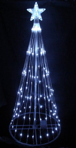 Outdoor Christmas Cone Lights