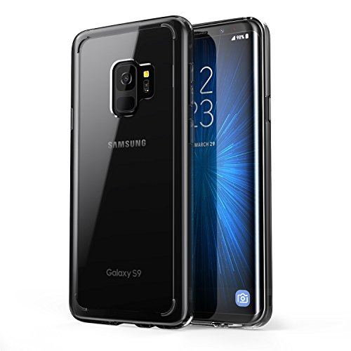 i-Blason Case for Galaxy S9 (2018), [Halo Series] [Scratch Resistant] ClearGalaxy S9 Hybrid Bumper Case Cover 2018 Release (Clear/Black)
