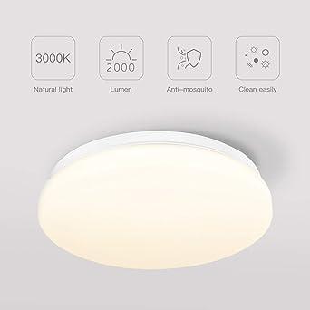 Lámpara de Techo,Luz de Techo LED,Downlight Plafon de Techo Colgantes Superficie,