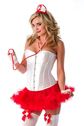 Velvet Kitten Naughty Nurse 5 Piece Accessory Kit Costume Accessories ONLY