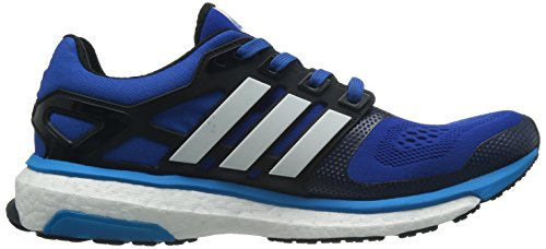 adidas Energy Boost 2 ESM, Herren Sneaker, Mehrfarbig blau/weiß (BLUBEA/FTWWHT/SOLBLU)