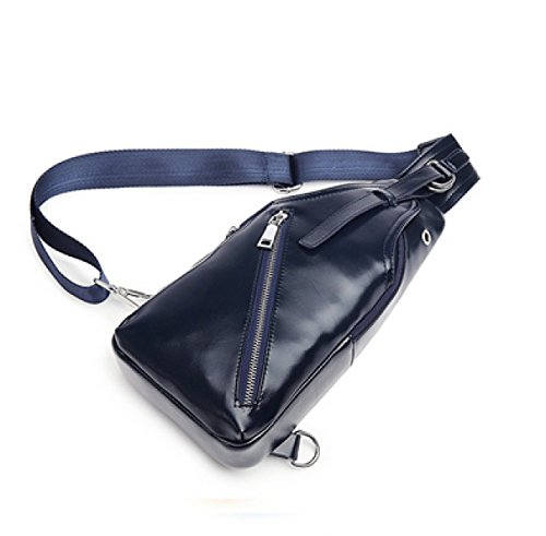 Business Chest Men Fashion Blue Shoulder Laidaye Casual Diagonal Package Bag 8ZYqSHwx