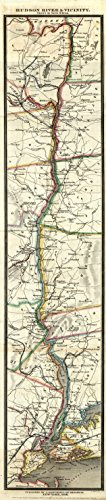 Map Poster - Hudson River and Vicinity. - 24