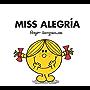Miss Alegría (Mr. Men Y Little Miss) (Spanish Edition)