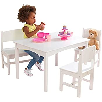 Amazon Com Kidkraft Nantucket Table With Bench And 2